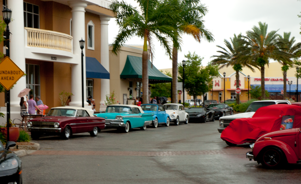 Car Show on Main in Downtown Lakewood Ranch